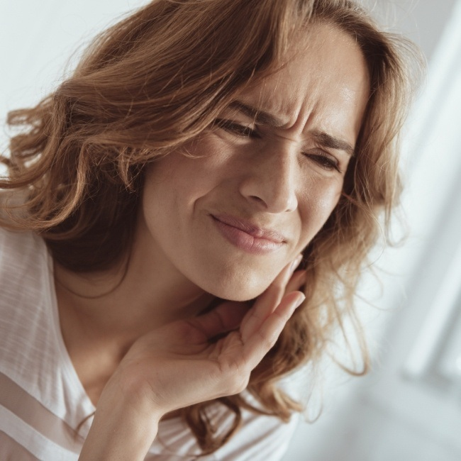X-ray of smile with pathological cysts and tumors