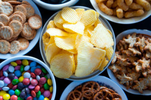 Salty snack foods